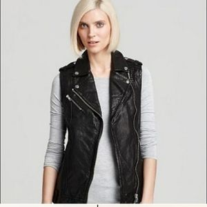 Mackage for Aritzia Frederica leather vest